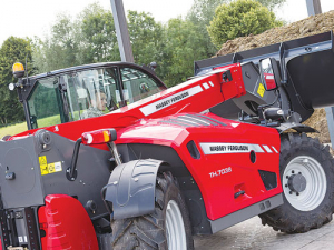 MF's new TH7038 telehandler.