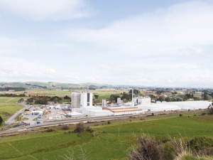 Fonterra's Pahiatua plant is one site where the co-op spent money on boosting capacity.