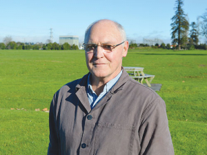 Former Fonterra director and corporate farmer Earl Rattray.