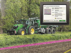 AutoSetup will be available on selected John Deere tractors in the second half of 2020.