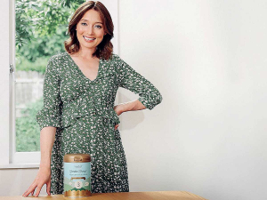 Actress Antonia Prebble is helping introduce New Zealand to a brand-new source of toddler nutrition made with grass-fed New Zealand sheep milk.