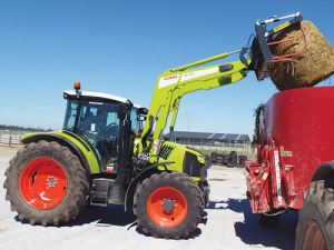 Claas Arion 400 series.
