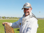 Arataki beekeeper Duncan Johnstone says bee thieving is at its worst.