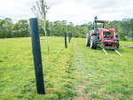 Fonterra is turning milk bottles into fence posts.
