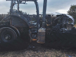 Nesting birds trigger machinery fires
