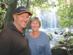 Alan and Helen Thompson say they are conscious of preserving and enhancing the environment.
