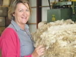 Philippa Wright (pictured), Wright Wool Ltd, says the sale last week was disappointing.