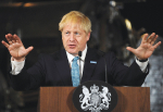 New UK PM Boris Johnson – along with Brexit – were two of the key talking points of the recent NZ farmers' tour to Britain.