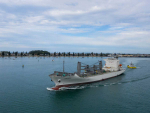 First shipment of kiwifruit crop sets sail