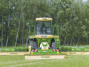 Krone Disc mower.