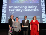 DairyNZ wins Primary Industry Award for fertility research