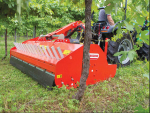 The Maschio Tigre mulchers are available in 1.7 or 1.8 metre working widths and can deal with residues of up to 12cm in diameter.
