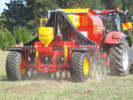Seed drill brings air to the mix