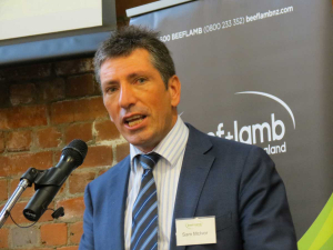 Beef+Lamb NZ CEO Sam McIvor.
